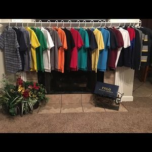 Polo By Ralph Lauren Boys size 8 shirts
